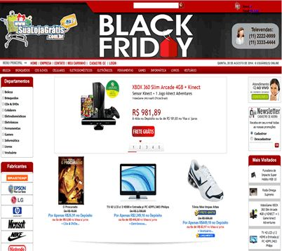 Layout Black Friday